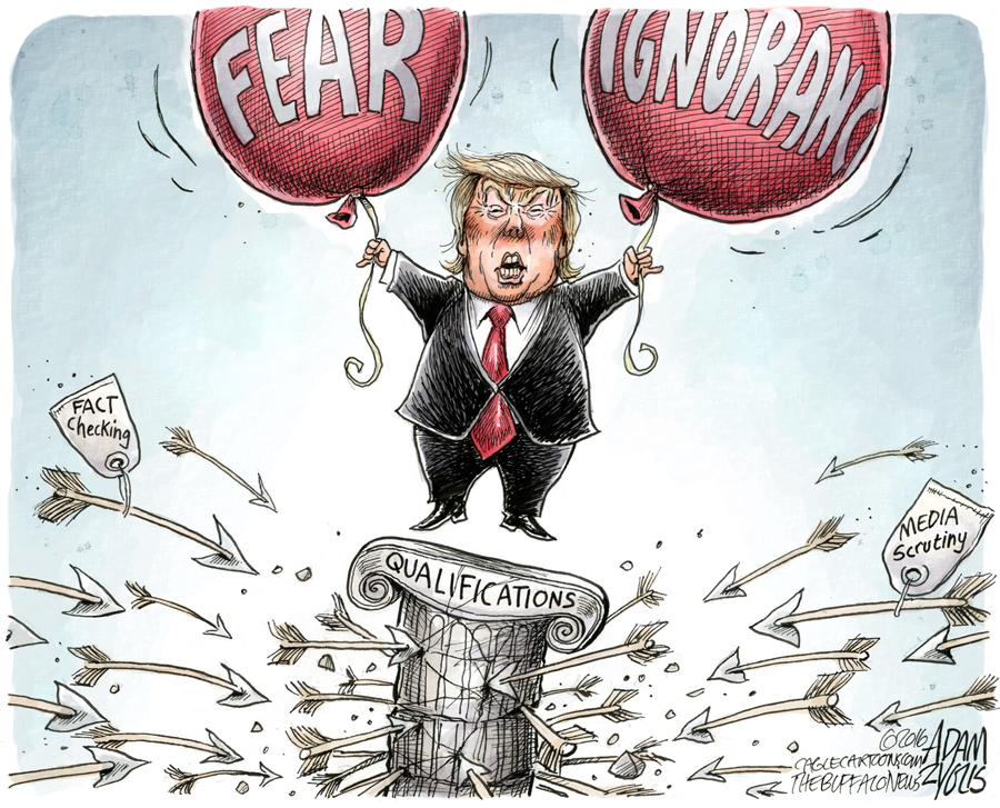 Trump Floats on Fear and Ignorance