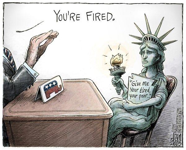 Trump Fires Liberty