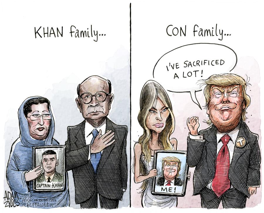 Trump Sacrifices